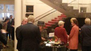 H.K.H. Prinses Beatrix was ook aanwezig